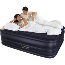 Bed With Tv Built In Intex Queen 22 Raised Downy Airbed Mattress With Built In