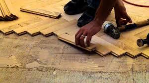 installing hardwood red oak herringbone floor nj kitchens and baths you