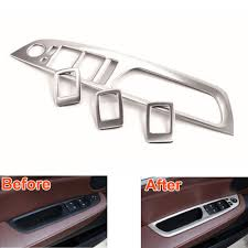 BMW 3 Series 2013 bmw x5 accessories : Interior Accessories Window Switch Button Panel Trim Cover Fit For ...