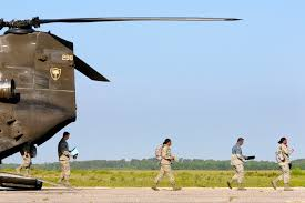 u s department of defense photo essay airmen walk out the rear ramp of a ch 47 chinook helicopter at the georgetown
