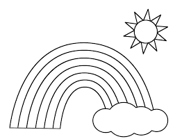 Small Picture rainbow coloring sheet with color words coloring page Asthenicnet