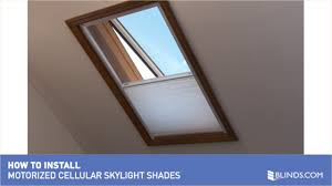How to Install Motorized Skylight Shades » Skylights And Arches -  Blinds.com - Blinds.com Video Gallery