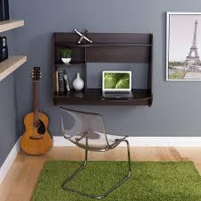 desk for office at home. Kurv Espresso Desk With Shelves For Office At Home