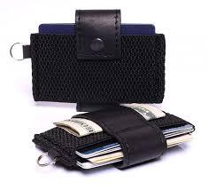 aarp 4 piece luge organizer set slim minimalist wallet card holder men s women