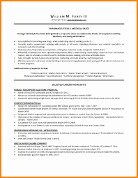 8 Medical Sales Resume Sample New Hope Stream Wood