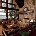 clio california craftsman living room. Cottage And Lodge Style Clio California Craftsman Living Room O