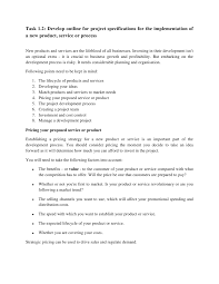 assignment brief project management 4