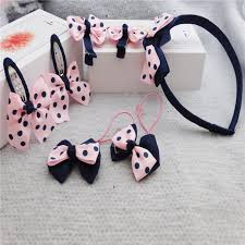 <b>7Pcs/Set Kids</b> Girl's Bow Headwear Headband MC   Shopee ...