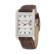 locman 240wh2br watches locman men s sport stealth rectangular watch