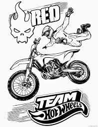 This design is only available for smartphones. Hot Wheels Team Coloring Pages Red Printable Coloring4free Coloring4free Com