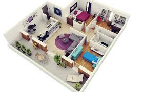 1 3 bedroom apartment plans