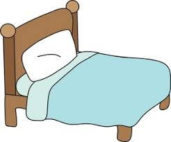 bed clipart. Brilliant Bed Bed Clipart Image Illustration Of A Intended T