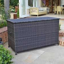 rubbermaid planter bench incredible deck boxes astounding outdoor wicker storage bench