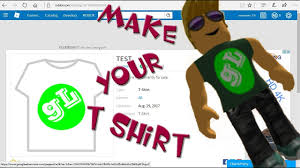 How To Make A Tshirt In Roblox Roblox How To Make T Shirt