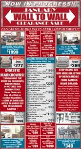 furniture store newspaper ads. WALL TO CLEARANCE SALE!!! Now In Progress! Furniture Store Newspaper Ads E