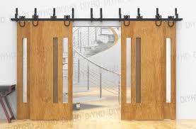 less foot closet doors door track for bypass
