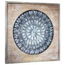 wood wall medallion art decor framed metal medallion on wood wall decorative wood wall medallions