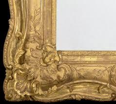 detail of the frame for jean baptiste pillement market scene in an imaginary
