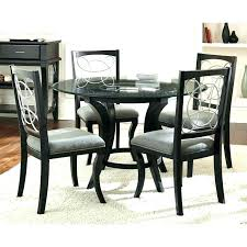 modern dining table and chairs set modern glass dining room sets round kitchen table modern glass
