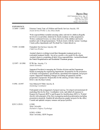 44 5 Social Work Resume Objective Examples Formatmemo