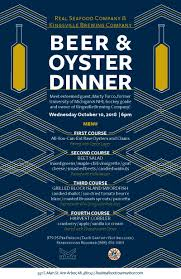 kingsville beer oyster dinner