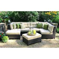better homes and garden carter hills outdoor conversation set outdoor 4 piece sectional conversation set pertaining