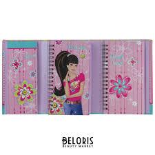 <b>Блокнот</b> с записной книжкой <b>Девочка</b> (<b>Brauberg</b>) купить в ...