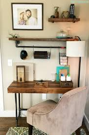 tutorial on creating an industrial desk from black iron pipe