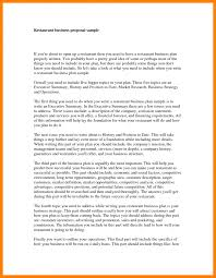 Samples Of Written Business Proposals Free Letter Templates