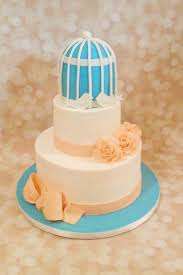 Designer Birthday Cakes In Atlanta Custom Blue Birdcage Cake By A Little Slice Of Heaven Bakery