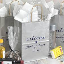gifts favors personalized wedding gift bags for guests out of town personalised hotel x