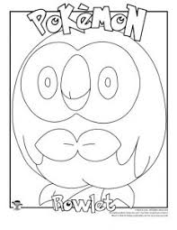 Free printable pokemon coloring pages, coloring sheets and coloring book pictures. Pokemon Coloring Pages Woo Jr Kids Activities