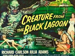 Image result for images of the creature from the black lagoon