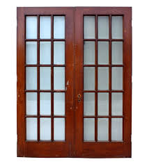 fabulous pair of salvaged 30 french doors oak with beveled glass ned50 for