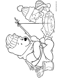 Small Picture Winnie the Pooh Friends Coloring Pages 4 Disney Coloring Book