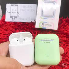 Tai nghe Airpods SỈ BÌNH DƯƠNG Airpods R10 ️ Rẻ bền đẹp, cầm pin tốt, kết  nối pop up Bảo hành 3 tháng giá cạnh tranh