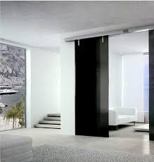 doors modern sliding doors black for m