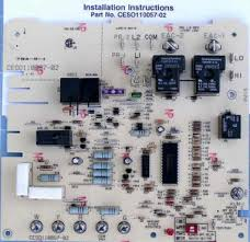 carrier control board. ceso110057-02 bryant carrier furnace control circuit board