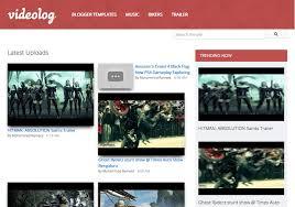 Video Log Template Videolog Responsive Blogger Template 2014