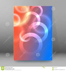 Brochure Cover Pages Background Report Brochure Cover Pages A4 Style Abstract Glow33