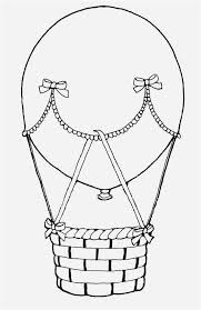 balloon coloring pages photo