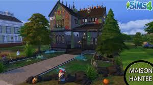 les sims 4 maison hantée sans cc construction sd build fr hd you