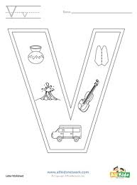 Then these free coloring pages will be the perfect addition to your lesson plan. Letter V Coloring Page All Kids Network