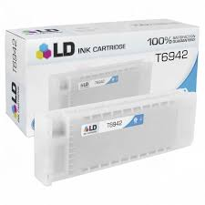Remanufactured <b>Epson T6942 Cyan</b> Ink - LD Products