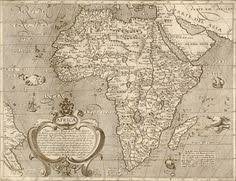 sea monster world map. Modren Monster This Great Antique Century Map Of Africa Can Really Transform A Room Both  In The Home Or Office Complete With Sea Monsters And Sailing Ships T Intended Sea Monster World Map