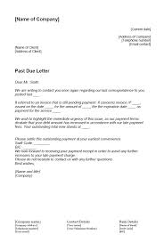 How To Write A Past Due Letter 11 Ionos