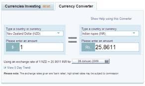 Yahoo Finance Exchange Rate Currency Exchange Rates