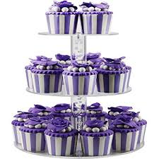 Amazoncom Dycacrlic 3 Tier Cake Cupcakes Stands Display Tree For