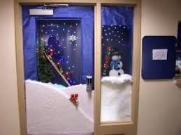 office door decorating. Christmas Office Door Decorations Happy Holidays Decorating Ideas 06 . A