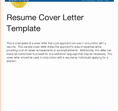 Sample Cover Letter Resume Examples Of For New Word Format